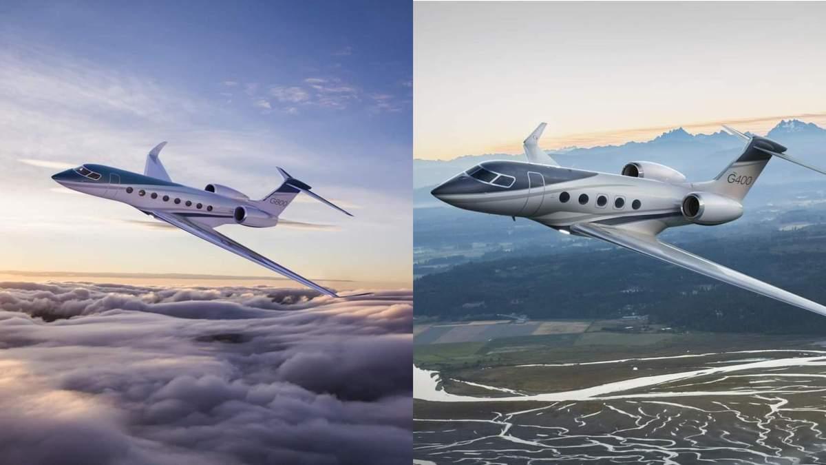 Компанія Gulfstream представила бізнес-джети G400 і G800 - Інновації