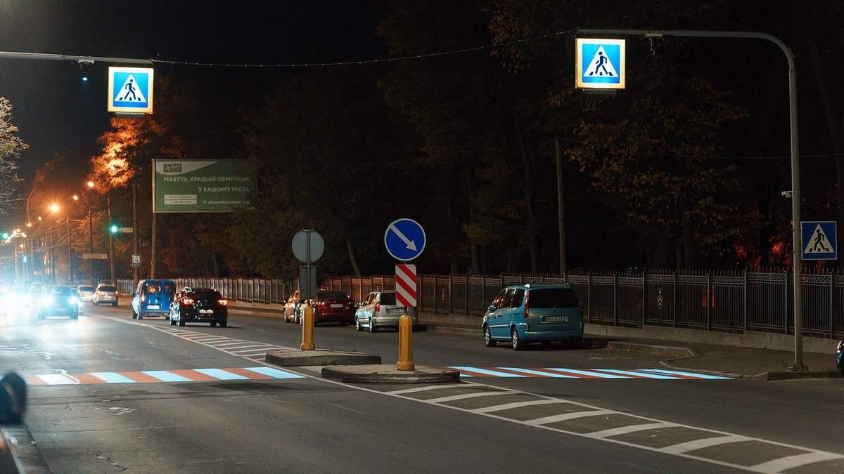 У Вінниці тестують унікальний проєкційний пішохідний перехід - Інновації