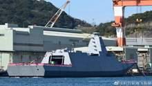 Японія спустила на воду фрегат нового покоління Mogami: фото, відео