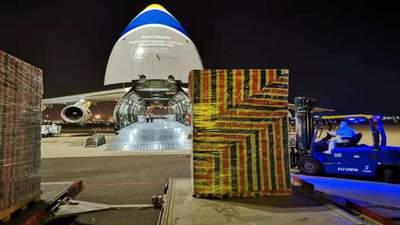 """Компанія """"Антонов"""" успішно перевезла багатотонне обладнання: які були складнощі"""