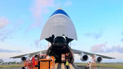 Українські літаки Ан-124 у жорсткі терміни перевезли обладнання в Африку: фото