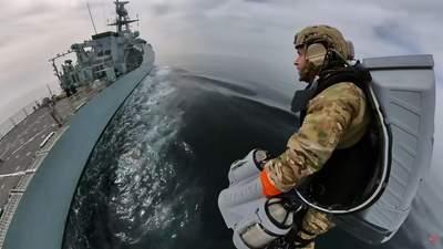 Королевская морская пехота испытала реактивный костюм: видео