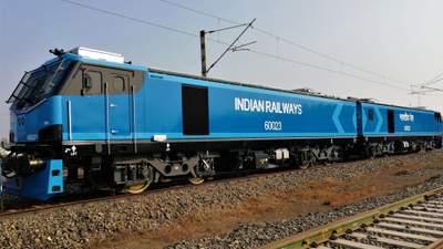 Индия получила 100-й электровоз Alstom за год