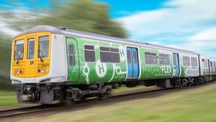 В Великобритании испытали водородный поезд: все об инновационном HydroFLEX