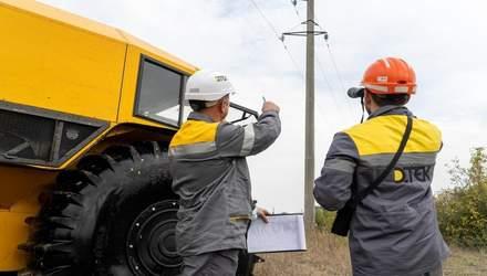 Вездеходы для ремонта линий электропередач: ДТЭК протестировал инновационный SHERP – видео