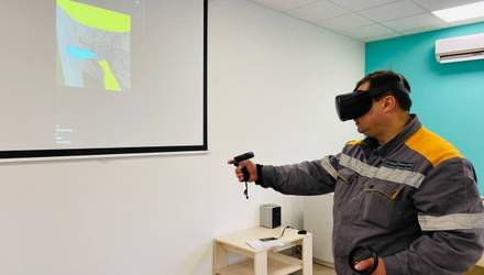 ДТЭК Сети впервые обучает электромонтеров с помощью виртуальной реальности