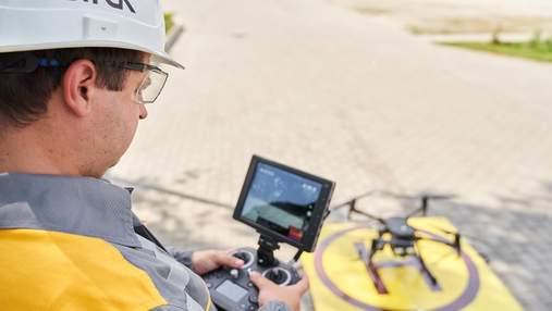Дроны для предотвращения аварии: ДТЭК представил инновационную технологию
