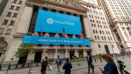 Стартап Snowflake провел крупнейшее IPO в истории софтверных компаний: Уоррен Баффетт оценил