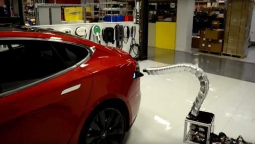 Tesla не отказывается от идеи роботизированной зарядки для беспилотников, – Илон Маск