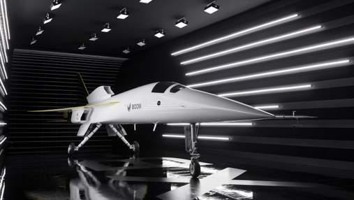 Надзвуковий пасажирський літак створюють у США: як виглядатиме – відео
