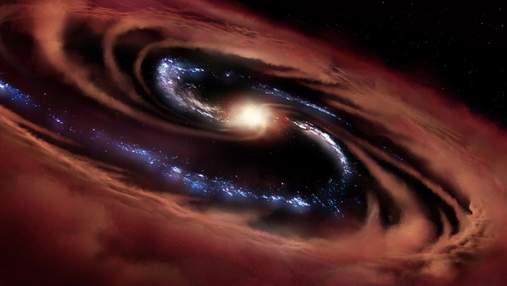 Астрономы обнаружили галактику, которая сильнее черных дыр: как это удалось