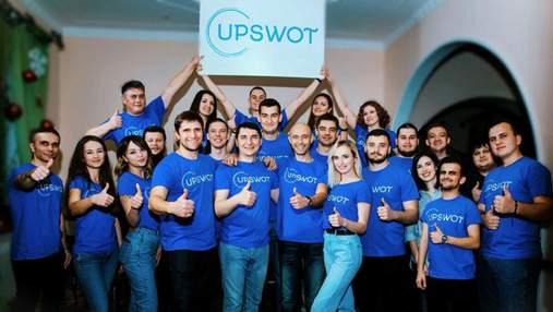 Український стартап Upswot залучив 4,3 мільйона доларів інвестицій