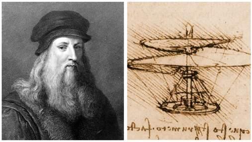 10 геніальних винаходів Леонардо да Вінчі, які випередили свій час