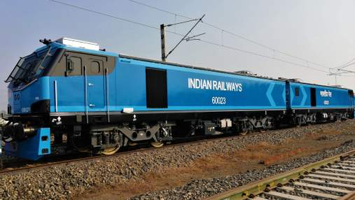 Індія отримала 100-й електровоз Alstom за рік