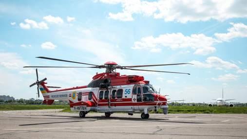 Франция передала Украине шестой вертолет Airbus: фото