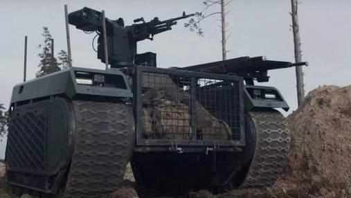 В Эстонии боевые роботы Milrem прошли испытания в режиме реального огня