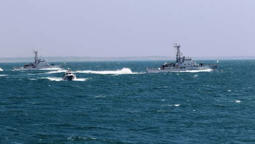 ВМС Украины получат три катера типа Island от США