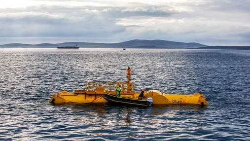 Шотландцы испытывают генератор, который перерабатывает энергию морских волн