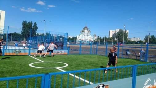 Для активной молодежи: в Харькове открылся современный урбан-парк