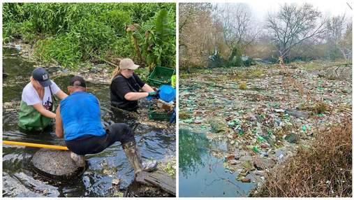 Зібрали 70 тонн сміття: на Харківщині волонтери рятують річку від екологічної катастрофи