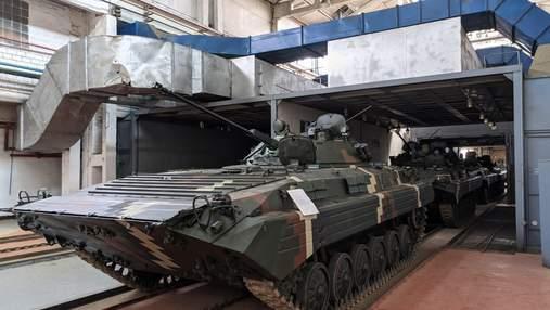 ВСУ передали партию отремонтированных боевых машин БМП-2