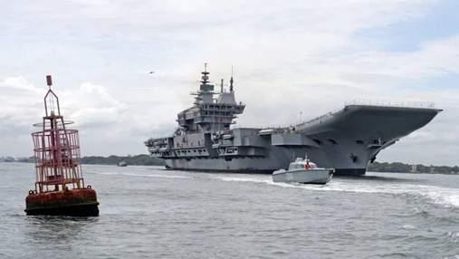 В Индии начались испытания авианосца Vikrant