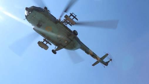 Авианаводчики Объединенных сил провели учения по наведению экипажей вертолетов на цели