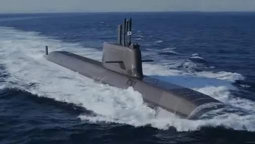 Південна Корея спустила на воду перший 3000-тонний підводний човен виробництва Daewoo