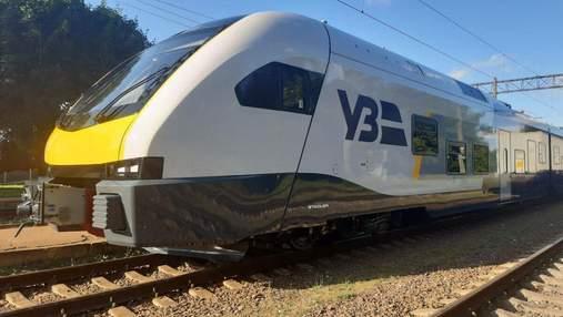 В Україні випробують електропотяг швейцарської компанії Stadler