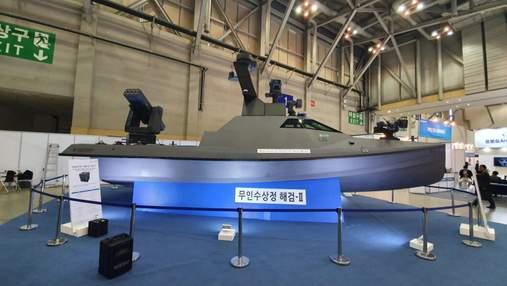 У Південній Кореї випробували безпілотний надводний катер: що про нього відомо