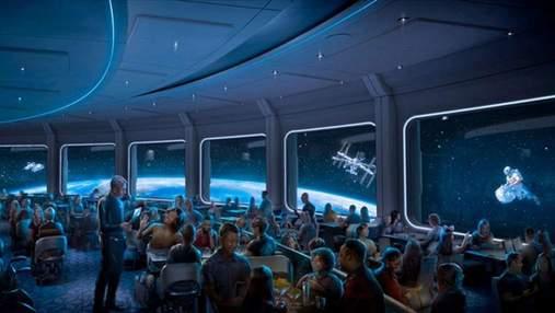 Обід на орбіті: Disney відкриває космічний ресторан Space 220 – захопливий відеотур
