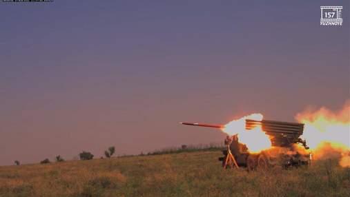 """В Украине испытали новые реактивные снаряды для БМ-21 """"Град"""""""