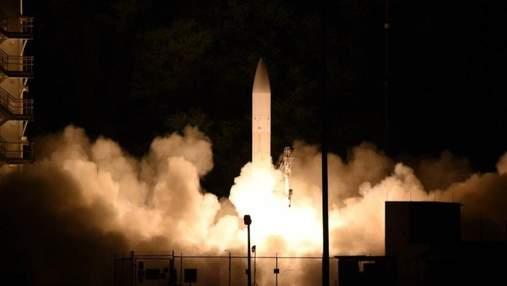 ВМС США випробували двигун другого ступеня гіперзвукової ракети