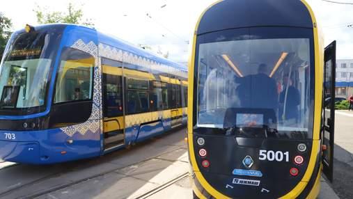 Киев получил 4 новых трамвая: что о них известно