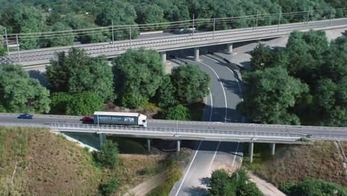 Укравтодор показал, как будет выглядеть вантовый мост через Днепр в Запорожье