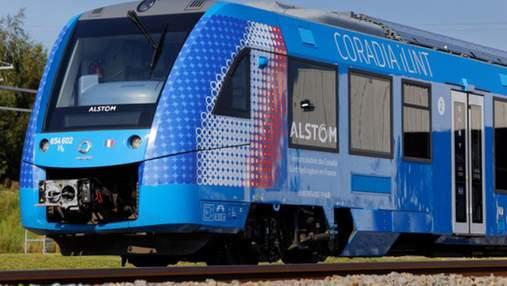 Франція випробовує перший у світі водневий потяг: відео