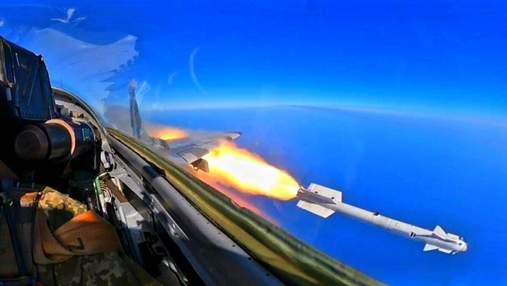 Украинские истребители отработали пуски управляемых ракет Р-73