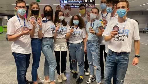 Украинские школьники приняли участие в выставке Global Industrie во Франции: получили 11 наград