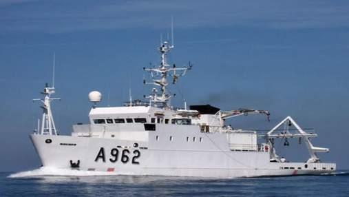 Украине передали научно-исследовательское судно для экомониторинга Черного и Азовского морей