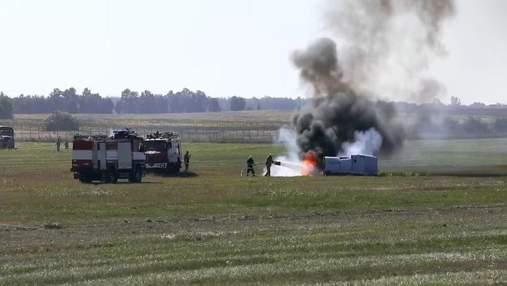 """В аеропорту """"Бориспіль"""" провели масштабні навчання: захоплююче відео"""