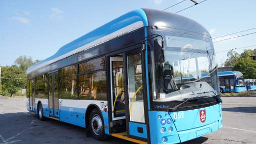 В Виннице изготовили пятый троллейбус VinLine