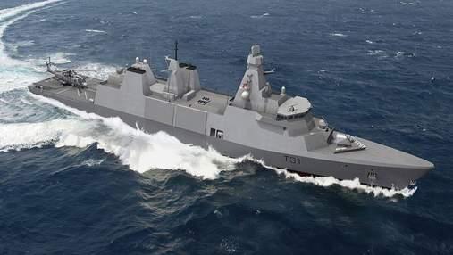 Началось строительство первого фрегата Type 31 ВМФ Великобритании