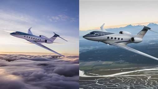 Компанія Gulfstream представила бізнес-джети G400 і G800
