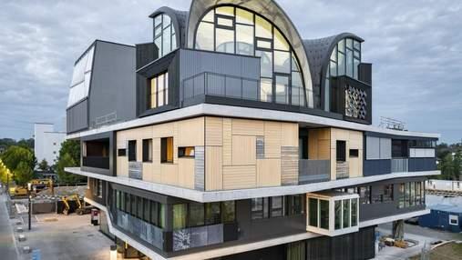 Інноваційні методи будівництва: у Швейцарії показали споруду HiLo, що знижує викиди CO2