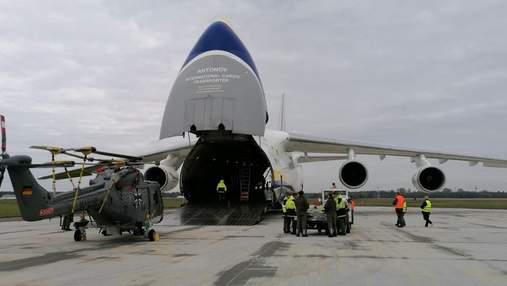 """Український Ан-124 """"Руслан"""" доставить німецький військовий гелікоптер до США"""
